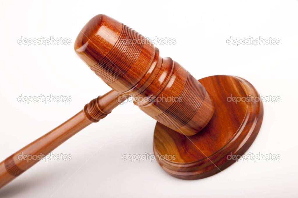 Law concept, hammer of justice — Stock Photo #3334367