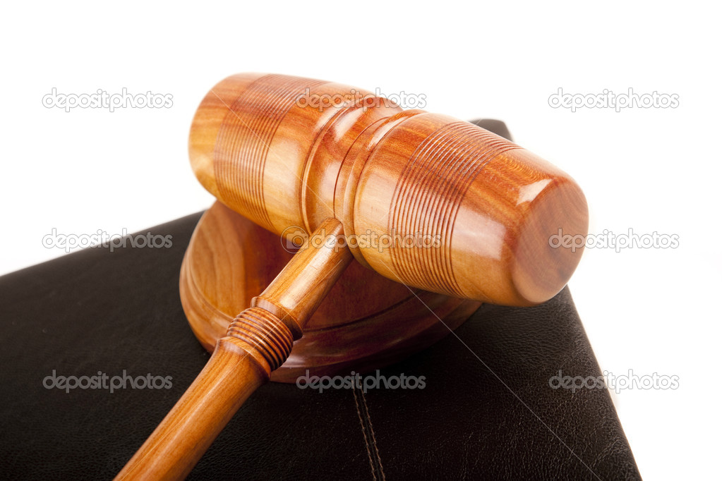 Law concept, hammer of justice — Stock Photo #3334376