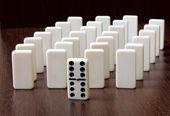 Domino — ストック写真