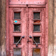 Stock Photo: Old door in Riga