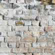 Light gray brick wall — Stock Photo