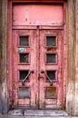 Old door in Riga — Stock Photo
