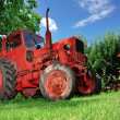 Farming tractor — Stock Photo