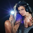 Sexy DJ — Stock Photo #3774254