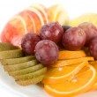 Royalty-Free Stock Photo: Healthy combination of fresh fruits