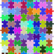 Royalty-Free Stock Vector: Color puzzle