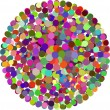 Vector color Dots — Stock Vector
