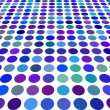 Blue color Dot Background — Stock Vector #2747535