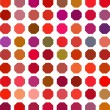 Stock Vector: Color Dot Background