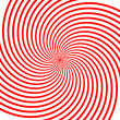 Red vortex illustration — Stock Vector #2747583