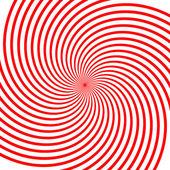 Red vortex illustration — Stock Vector