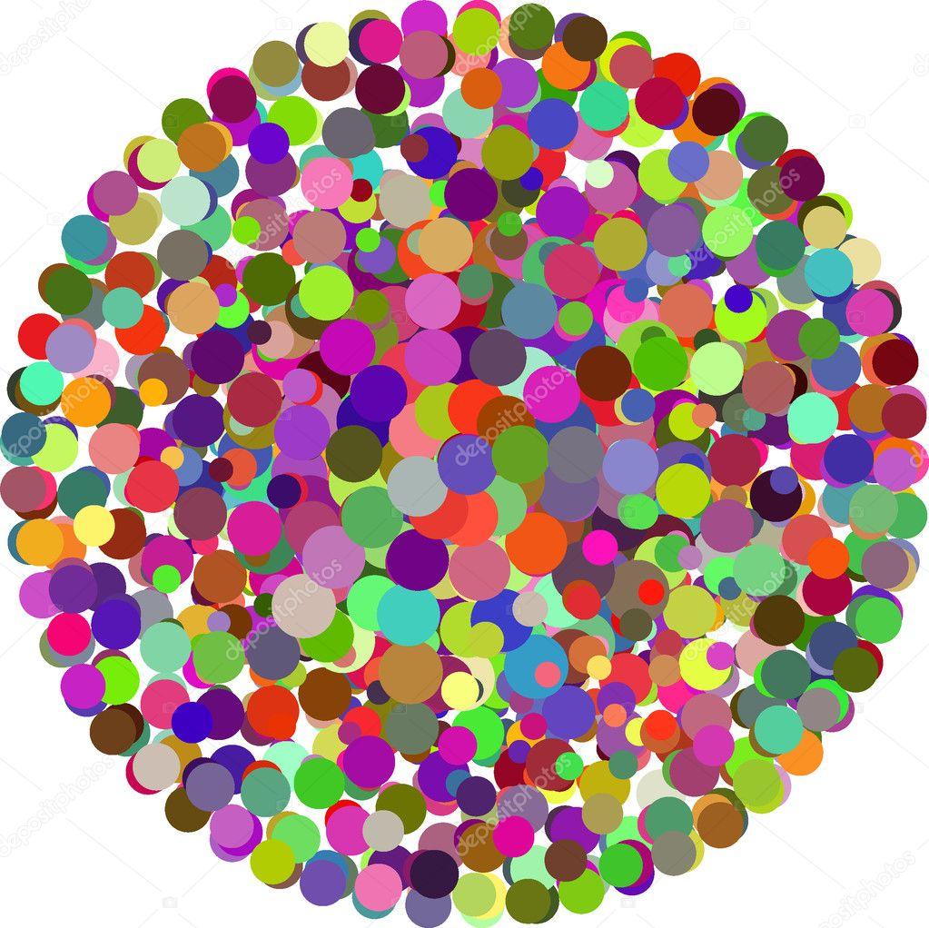 Vector color Dots — Stock Vector © olinchuk #2747516