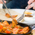 Yemek vakti — Stok fotoğraf
