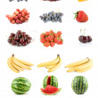 Set of fruits and vegetables — Stock Photo #2755363
