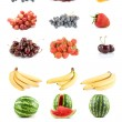 Royalty-Free Stock Photo: Set of fruits and vegetables