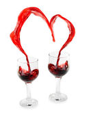 Wine Heart — Stockfoto