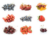 Collection of ripe fruit — Stock Photo