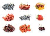 Colección de fruta madura — Foto de Stock