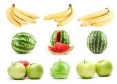 Set of ripe fruit — Stock Photo