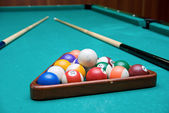 The Pool Billiard — Stock Photo