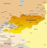 Kyrgyzstan — Stock Vector
