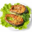 Tasty hunchback salmon fish — Stock Photo #2760281