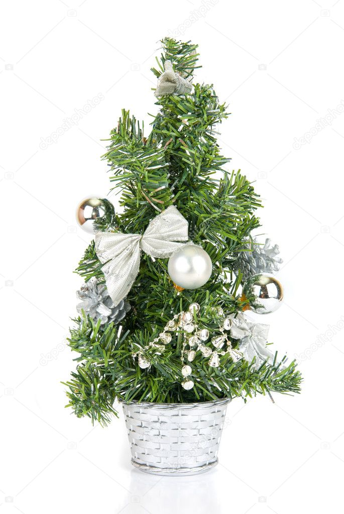 Christmas firtree isolated on a white background  Stock Photo #2765405