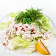 Royalty-Free Stock Photo: Seafood salad