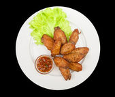 Chicken wing — Stock Photo