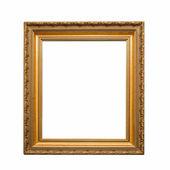 Antiga moldura dourada — Fotografia Stock