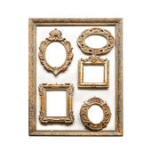 Antique golden frames — Stock Photo