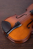 Classic violin closeup — Stock Photo