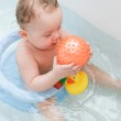 Baby and ball — Stock Photo #3123331