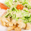 Royalty-Free Stock Photo: Caesar salad closeup