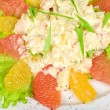 Seafood salad — Stock Photo #3124352