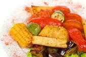 Legumes grelhados — Foto Stock