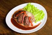 Roast maral meat — Stock Photo