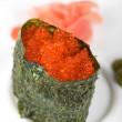 Red tobiko sushi — Stock Photo #3281544