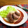 Roast maral meat - Foto de Stock  