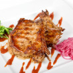 Roasted pork meat — Stock Photo