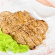 Fried chicken steak — Stock Photo #3431275