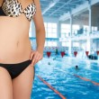 At swimming pool — Stock Photo #3432183