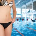 At swimming pool — Stock Photo #3432183