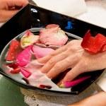 Preparation to manicure — Stock Photo
