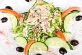 Salad of tuna fish — Stock Photo