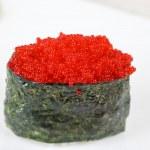 Red tobiko sushi — Stock Photo #3741417