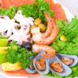 Seafood set — Stock Photo #3741449