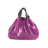 Bolso de la mujer púrpura — Foto de Stock