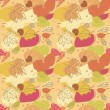 Royalty-Free Stock Vector Image: Seamless Autumn Pattern