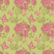 Seamless floral pattern — Stock Vector #3743740